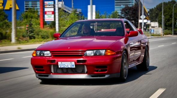 """1989 Nissan Skyline GT-R. The one and only """"Godzilla"""" straight from Japan."""